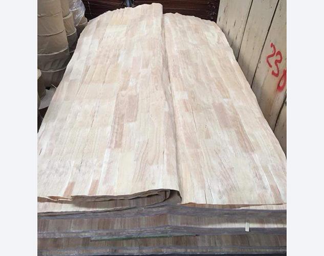 橡胶木刨切